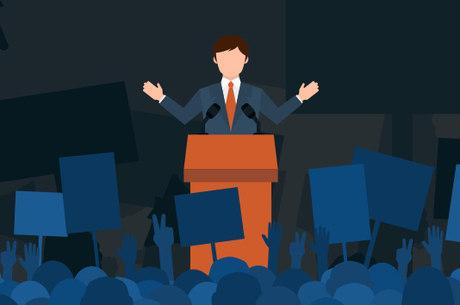 Candidatos participam de agenda presencial e on-line