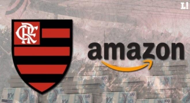 Arte - Flamengo e Amazon