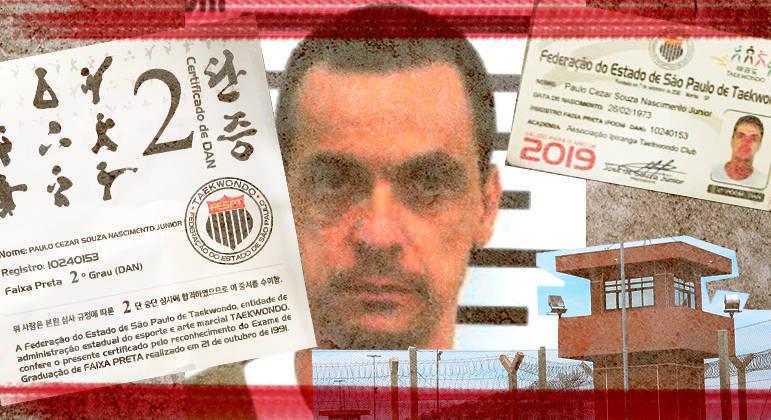Paulinho Neblina, como é conhecido ex-prodígio do taekwondo, está preso há 25 anos