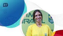 Brasileira de coração, Nathalie vai em busca da 1ª medalha olímpica