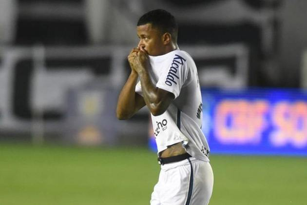Arthur Gomes – atacante – 22 anos – emprestado ao Atlético-GO até dezembro de 2021 – contrato com o Santos até dezembro de 2021