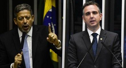 Lira e Pacheco alinham trabalho do Congresso em 2021