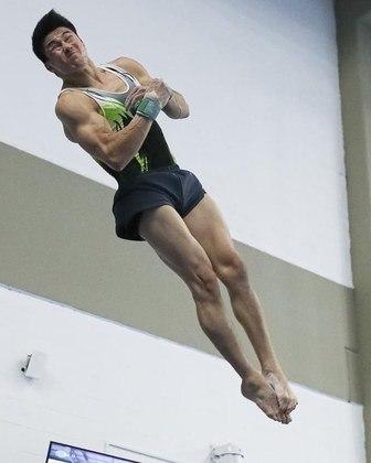 Arthur Nory, da ginástica artística, já ganhou uma medalha de bronze - 1.284.931 seguidores