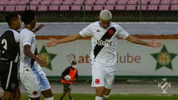 Arthur Sales (Atacante) - Vasco 0 x 2 Portuguesa-RJ - São Januário - Campeonato Carioca - 3 de março de 2021.