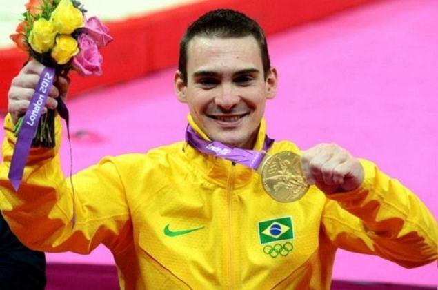 Arthur Zanetti é o único ginasta brasileiro a ter conquistado duas medalhas olímpicas, ambas nas argolas: ouro em Londres 2012 e prata no Rio 2016. Veja os líderes do país nas outras modalidades.