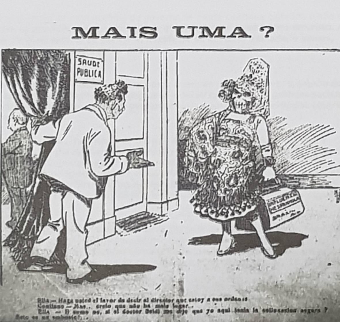 Gripe espanhola se tornou chacota quando chegou ao Brasil