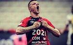5º - Renato Kayzer - Athletico-PR11 gols