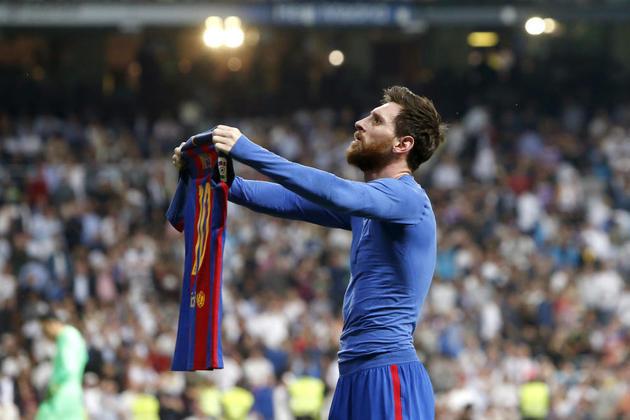 2017/2018 - Messi - Barcelona - 34 gols