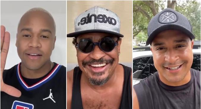 Leo Santana, Compadre Washington e Xanddy mandaram recado para pugilista