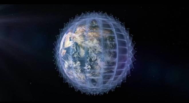 A constelação de satélites da OneWeb ficará a 1.200 km acima da Terra Por que tantos satélites estão sendo lançados?