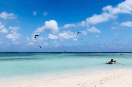 Aruba é conhecida pelas praias paradisíacas