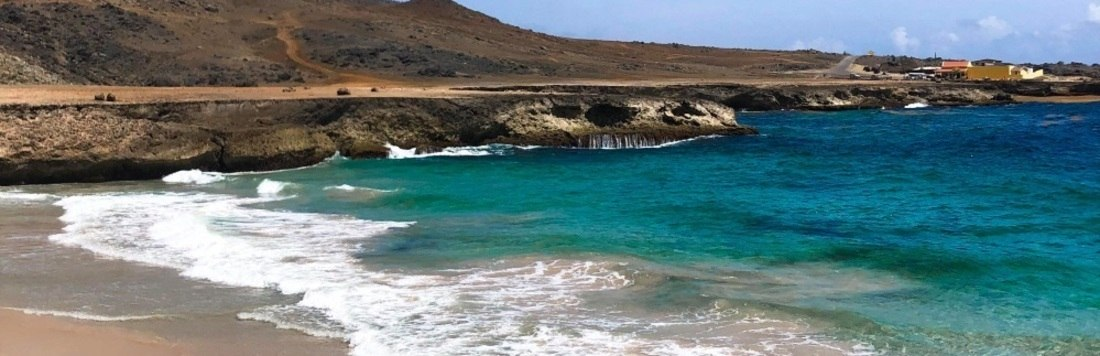 Viajar para Aruba, no Caribe, pode custar menos do que você imagina (Isadora Tega/R7)
