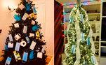 O ano de 2020 foi marcado por adaptações e desafios, a covid-19 mudou a vida das pessoas em todo o mundo. Máscaras de segurança, luvas e produtos de limpeza entraram com tudo no dia a dia da pandemia. Usando a criatividade e senso de humor, famílias e empresas aproveitaram os itens para decorar a árvore de Natal. Veja