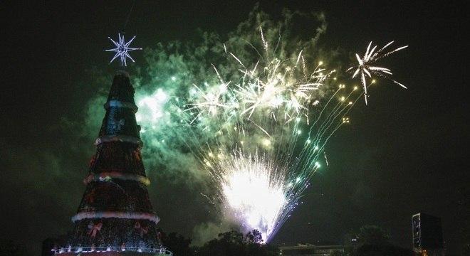 Arvore de natal ibirapuera 2020
