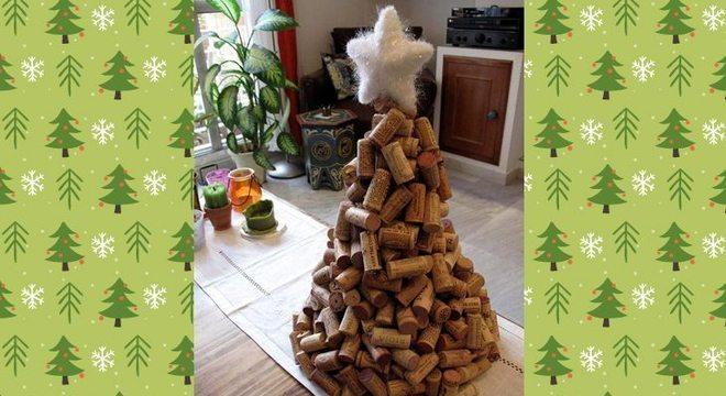 Árvores de Natal diferentes para você inovar na decoração da sua casa!