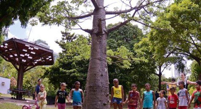As atividades ocorrerão no Jardim Botânico e no Econúcleo Jaqueira
