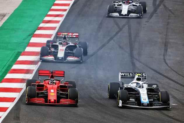 As boas disputas no pelotão intermediário da F1 no GP de Portugal