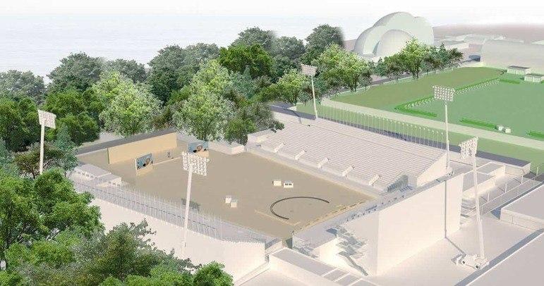As disputas do tiro com arco olímpico terão lugar no Yumenoshima Park Archery Field. A estrutura fica na denominada Ilha dos Sonhos e deve seguir sendo usada para competições após os Jogos.