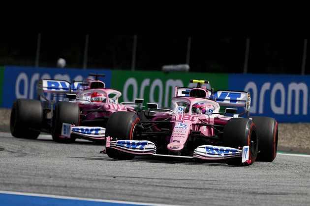 As duas Racing Point pontuaram no GP da Estíria