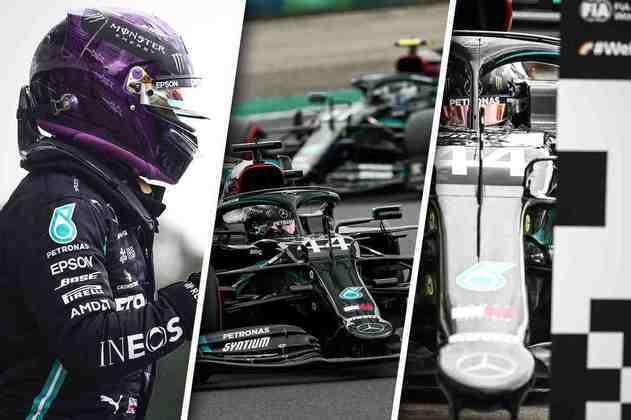 As melhores imagens do treino classificatório para o GP da Hungria de 2020