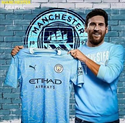 As montagens de Messi no Manchester City foram muitas. Aqui estão apenas algumas delas!