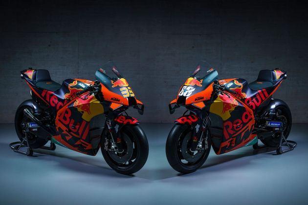As motos de Binder e Oliveira para 2021