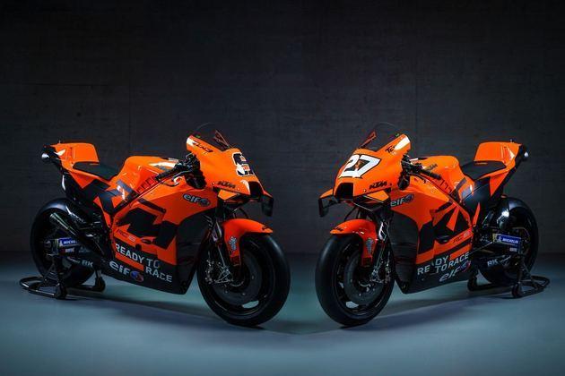 As motos de Petrucci e Lekuona