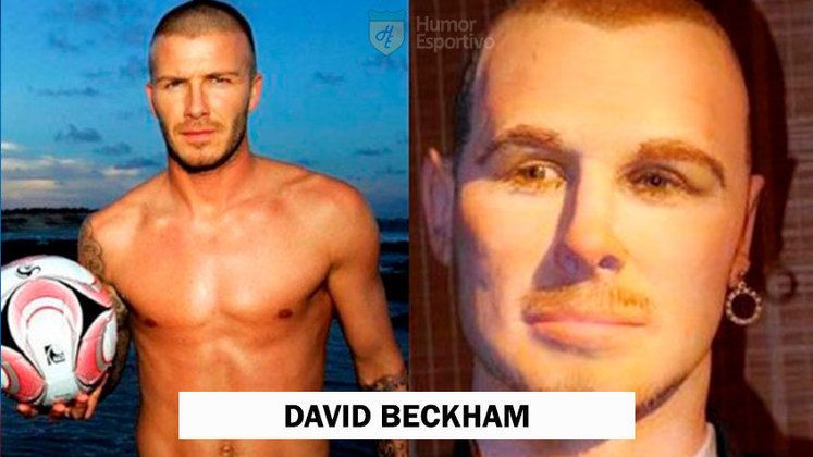 As mulheres acham David Beckham lindo! A sua estátua de cera então é de deixar qualquer uma de queixo caído.