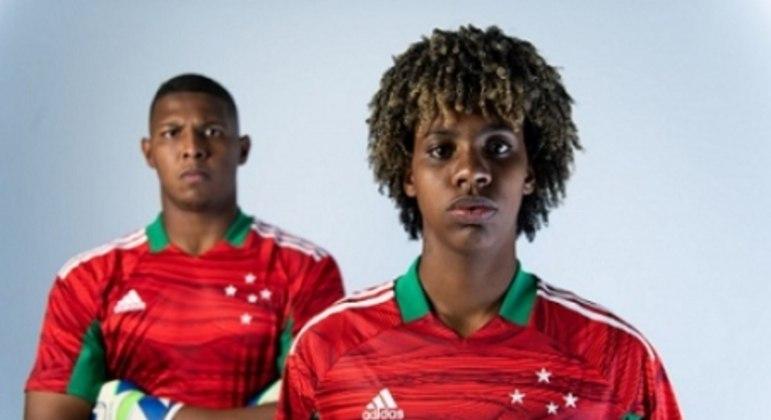 As novas camisas de goleiro também serão utilizadas pelas arqueiras do time feminino
