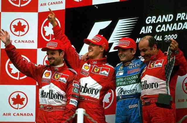 As ordens de equipe se tornaram uma presença constante na vida de Barrichello