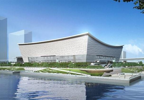 As partidas de tênis dos Jogos Olímpicos de Tóquio-2020 acontecerão na Arena Ariake. O local, cercado de bastante verde, tem 48 quadras com capacidade para até 19.900 espectadores.