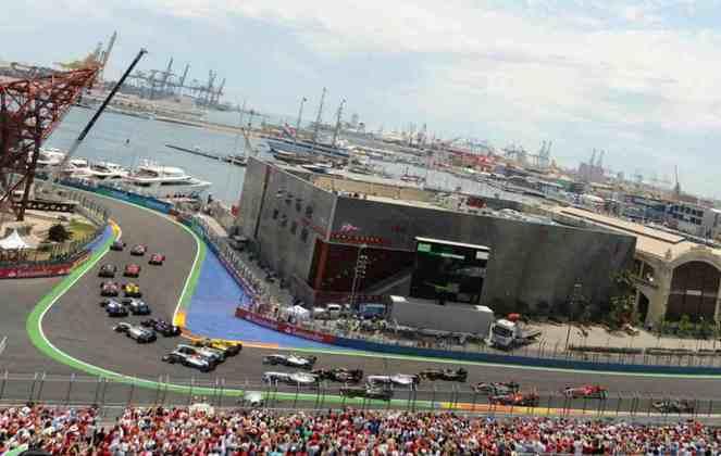 As ruas de Valência receberam a F1 entre 2009 e 2012. O projeto, hoje abandonado, é um dos mais criticados da carreira de Hermann