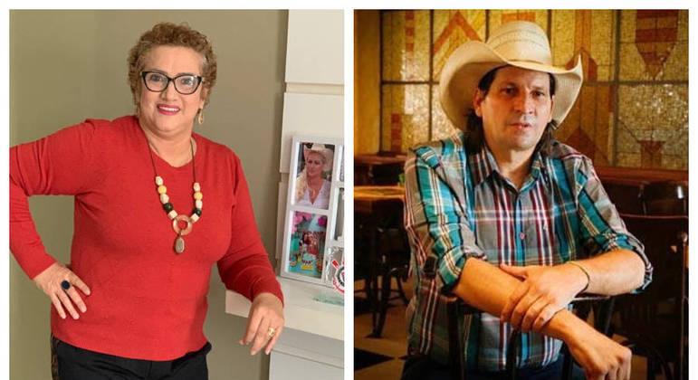 Sandra emagreceu 22 quilos e pretende criar um instituto em homenagem ao marido