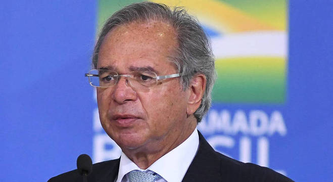 Na imagem, ministro da Economia, Paulo Guedes