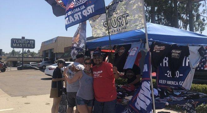 Babbitt viajou da Califórnia para Washington para assistir à demonstração