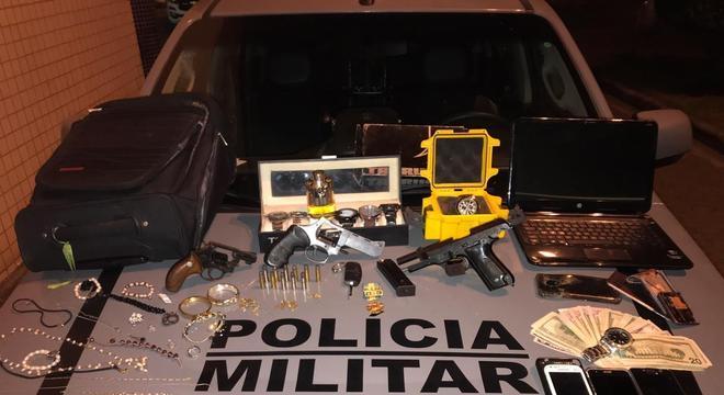 Suspeitos foram presos no mesmo dia em Santa Luzia, na Grande BH