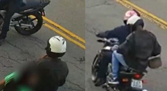 Suspeitos de matar homem em frente à padaria teriam, mais cedo, assaltado uma mulher