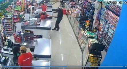 Preso é acusado de participar de assalto a mercado em dezembro