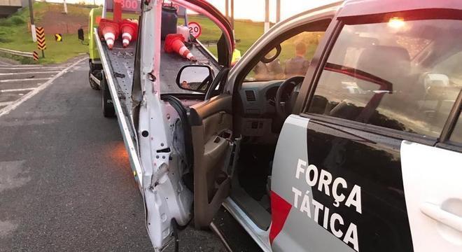 Um policial morreu e outros quatro ficaram feridas