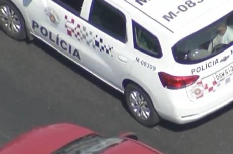 Suspeitos foram detidos na avenida Itaquera