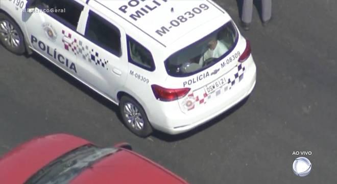 Dois suspeitos   foram detidos na avenida Itaquera, zona leste de São Paulo