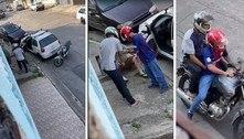 Dupla rouba celular e força a vítima a passar a senha em SP. Veja vídeo