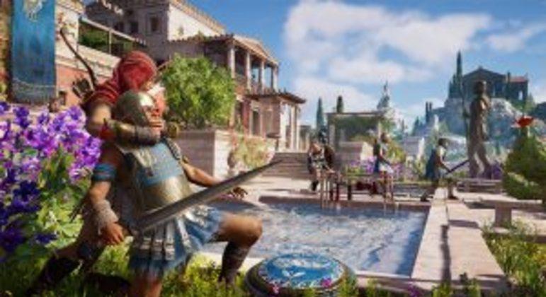 Assassin's Creed Odyssey terá atualização para 60 fps no PS5 e Xbox Series X S