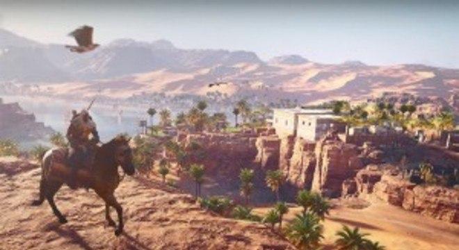 Assassin's Creed Origins para PC fica gratuito no fim de semana