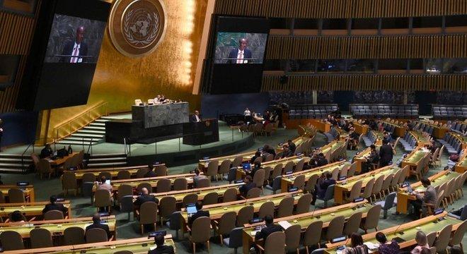 Simulações de sessões da ONU seguem um modelo elaborado por Harvard