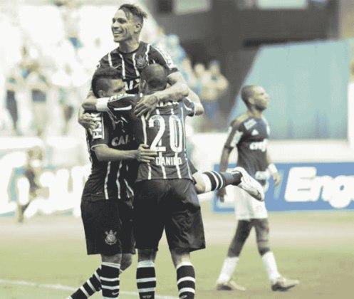 Assim como ganhou o primeiro encontro na sua arena, o Corinthians também foi o vencedor na primeira oportunidade que o Dérbi aconteceu no novo estádio do Palmeiras. Na primeira fase do Paulistão de 2015, Danilo marcou o gol da vitória corintiana por 1 a 0.