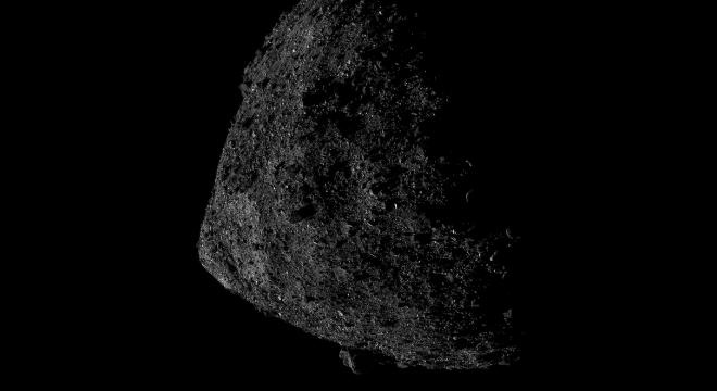 Asteroide Bennu está sendo estudado pela sonda OSIRIS-REx,da Nasa