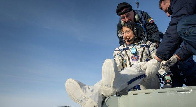 Missão retornou à terra dia 6 de fevereiro