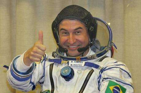Marcos Pontes participou de missão espacial em 2006