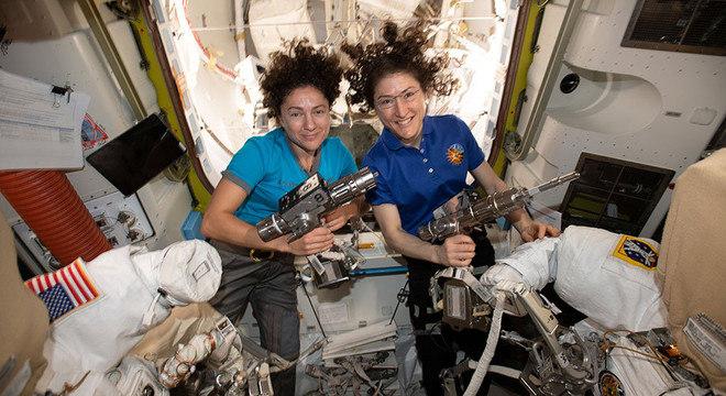 Christina Koch e Jessica Meir entrarão para a história da exploração espacial